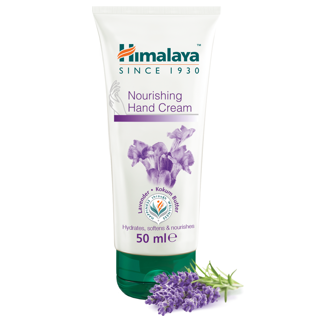 Himalaya Nourishing Hand Cream 50ml - Provides Essential Nourishment