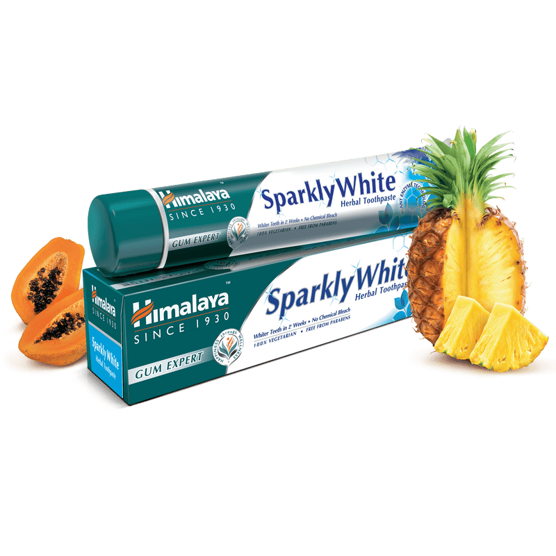 Himalaya Sparkly White - Gum Expert Herbal Toothpaste
