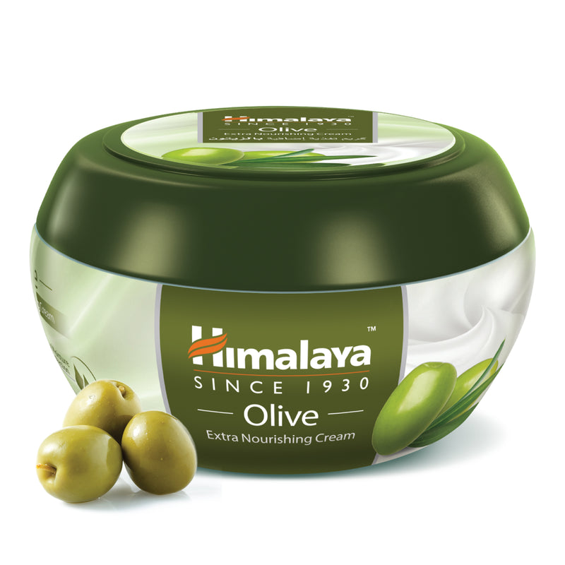 Himalaya Olive Extra Nourishing Cream - Deeply Nourishes the Skin