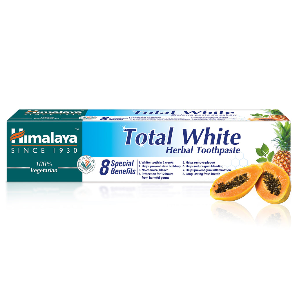 Total White - Herbal Toothpaste