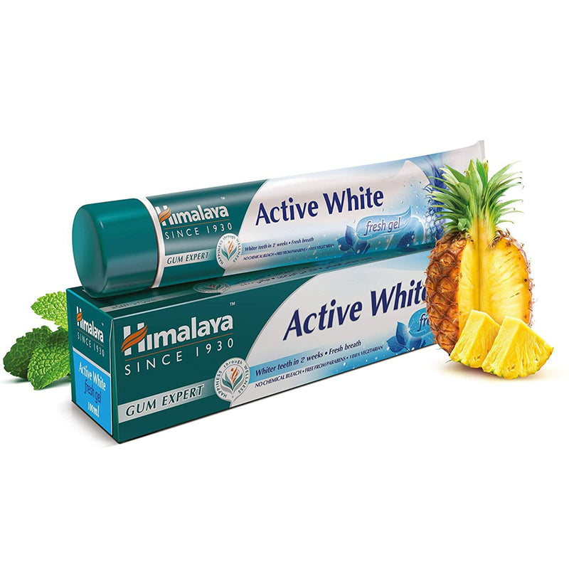 Gum Expert Herbal Toothpaste - Himalaya Active White Fresh Gel