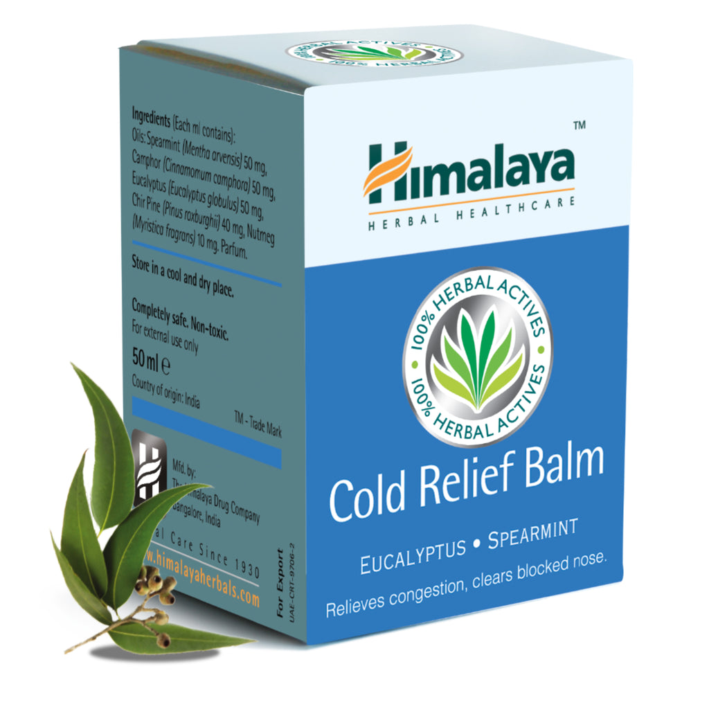 Himalaya Cold Relief Balm - Relieves Nasal & Sinus Congestion