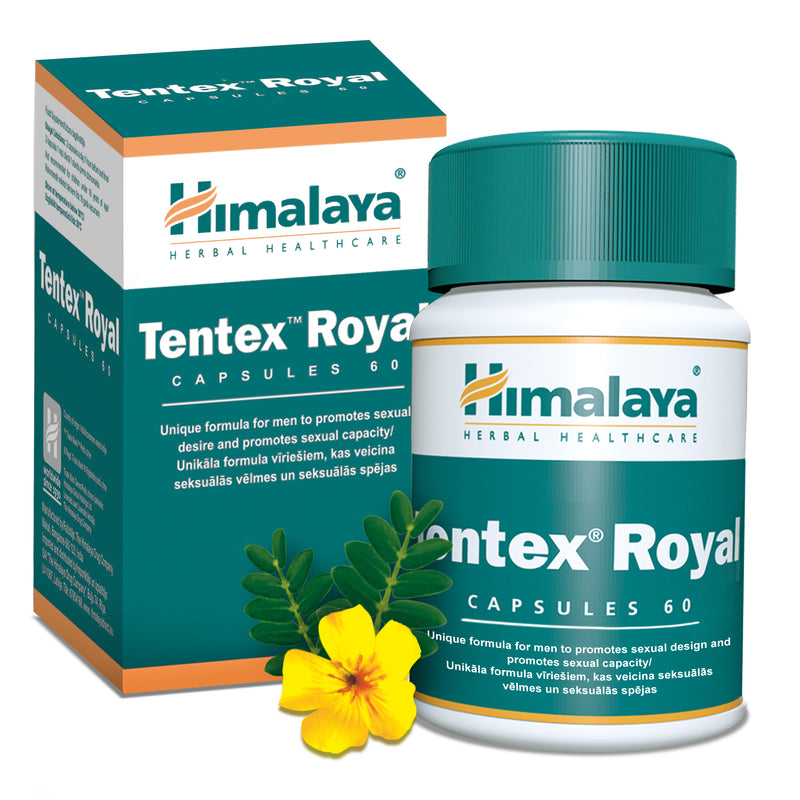 Himalaya Tentex Royal - Promotes Sexual Capacity in Men