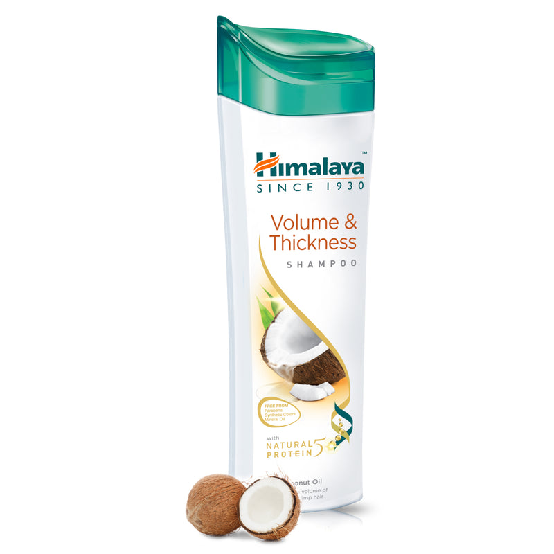 Himalaya Volume & Thickness Protein Shampoo - Adds Bounce & Volume