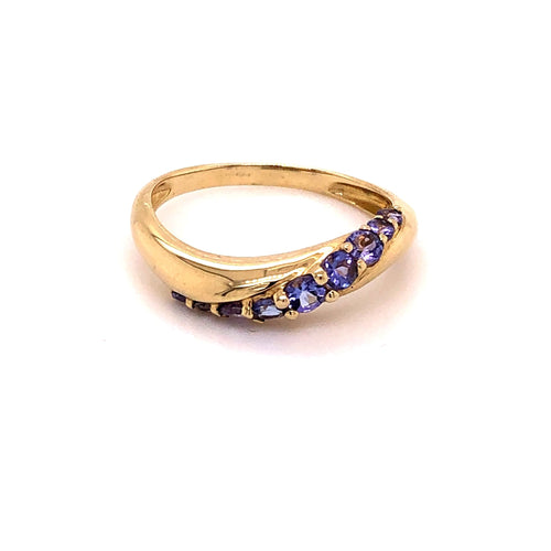 Amethyst Ring Gold 375 - JUWEL1