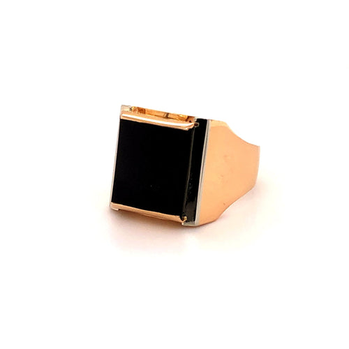 Onyx Ring Gold 750 - JUWEL1