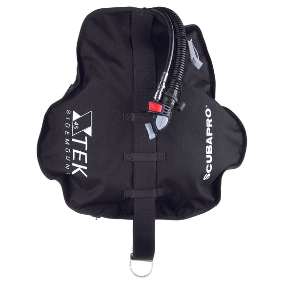 X-TEK Sidemount Wing, Black, 20LT - All About Scuba