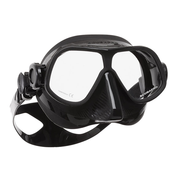Steel Comp Dive Mask, Black - All About Scuba
