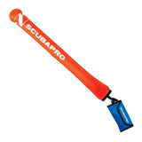 Surface Marker Buoy, PVC, Orange, 4.3ft. - All About Scuba