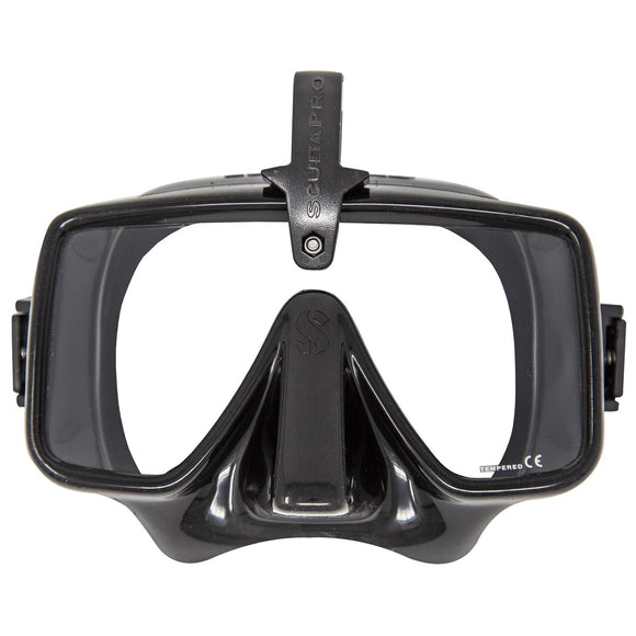 Frameless HUD, Black - All About Scuba