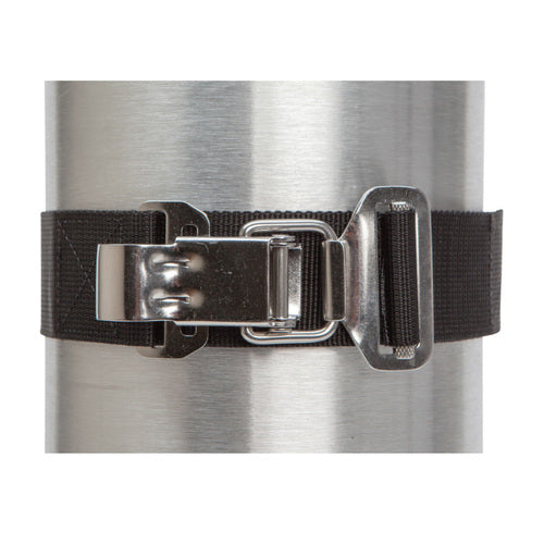 Tank Cam Strap with Stainless Steel Buckle - All About Scuba