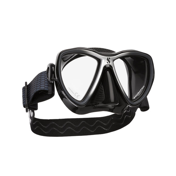 Synergy Mini Dive Mask, Black Skirt - All About Scuba