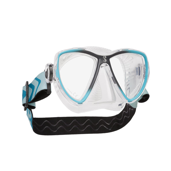Synergy Mini Dive Mask, Clear Skirt - All About Scuba
