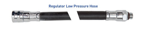 Rubber Low Pressure Regulator Hoses - All About Scuba