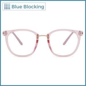 Jolie -transparent rose- Blue Blocking - Fitters Eyewear