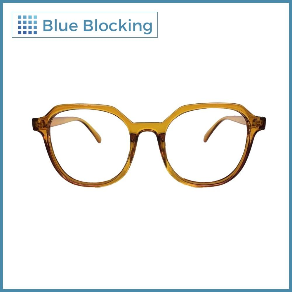 Fonda -amber- Blue Blocking - Fitters Eyewear