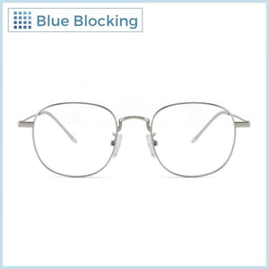 Compra tus lentes Affleck -silver- Blue Blocking en Fitters Eyewear