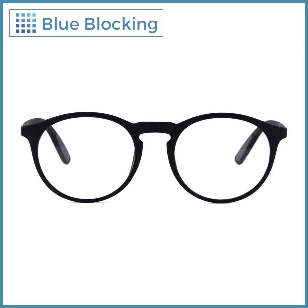 Compra tus lentes Depp -matte black- Blue Blocking en Fitters Eyewear