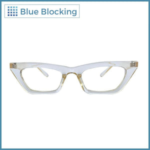 Dunst -transparent gold- Blue Blocking CON MEDIDA - Fitters Eyewear