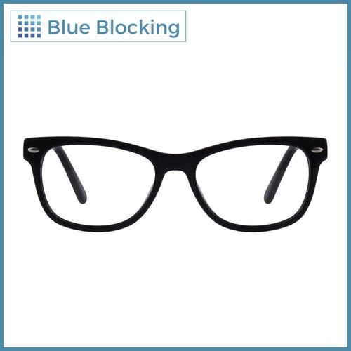 Compra tus lentes Hanks -black- Blue Blocking en Fitters Eyewear