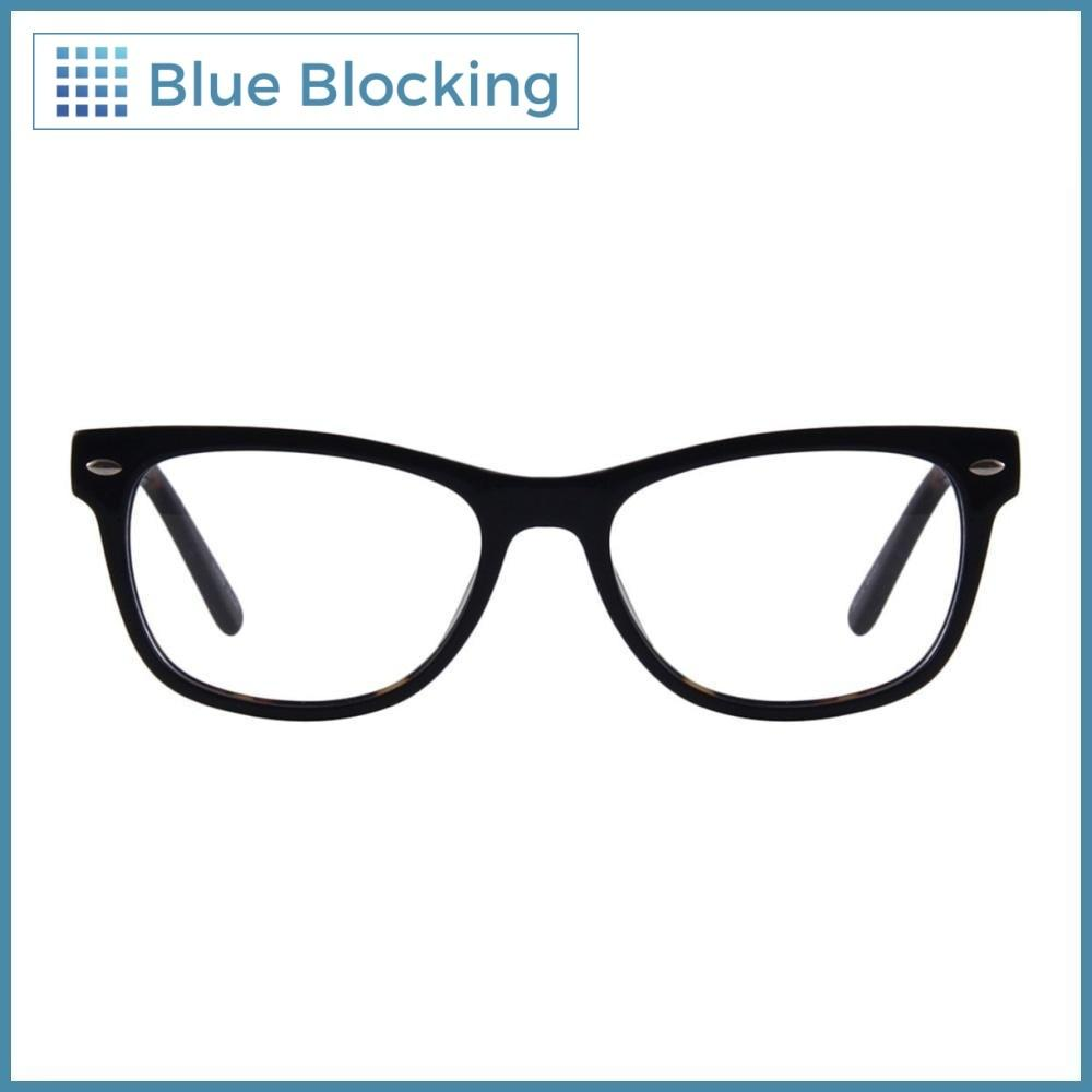 Compra tus lentes Hanks -black tortoise- Blue Blocking en Fitters Eyewear