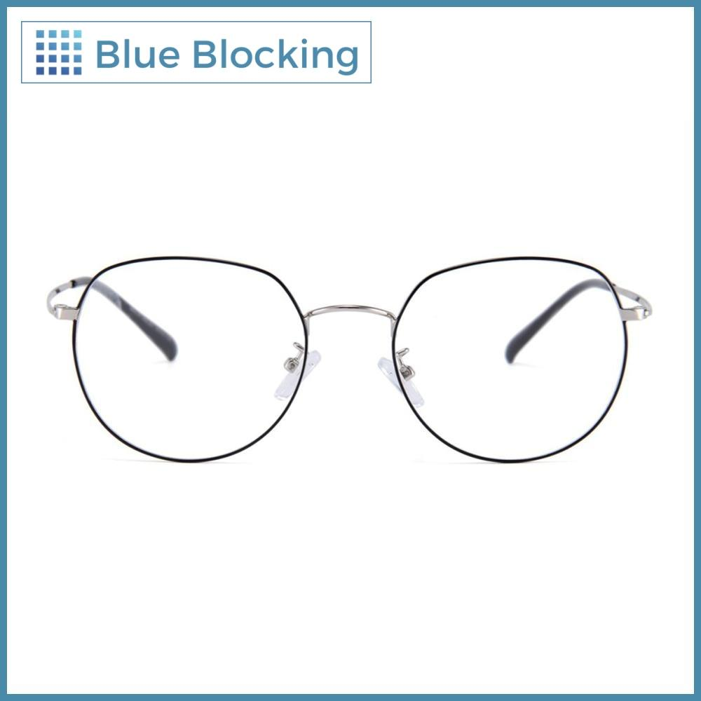 Compra tus lentes Jenkins -black silver- Blue Blocking en Fitters Eyewear