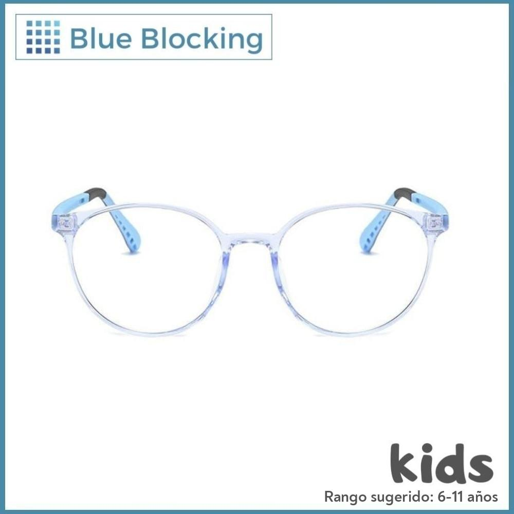 Woody -blue black- Blue Blocking - Fitters Eyewear