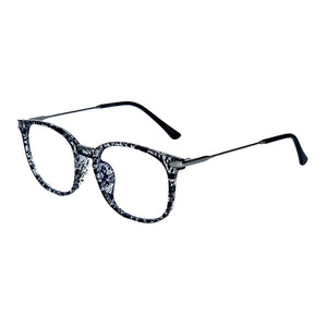 Compra tus lentes Pitt -black white- Blue Blocking en Fitters Eyewear
