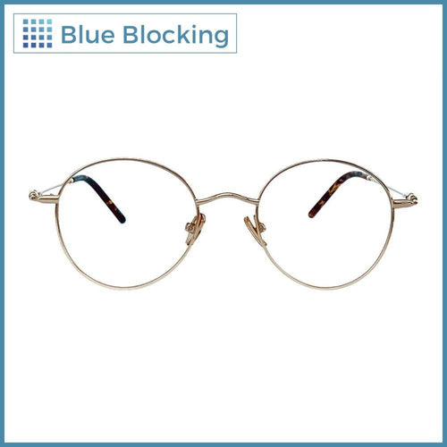 Compra tus lentes Simmons -gold- Blue Blocking en Fitters Eyewear