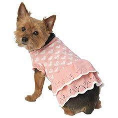 Petrageous Sera's Sweater Dress Pink