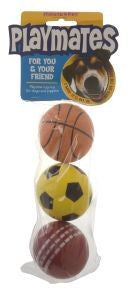 Masterpet Playmates 3 Ball Pack
