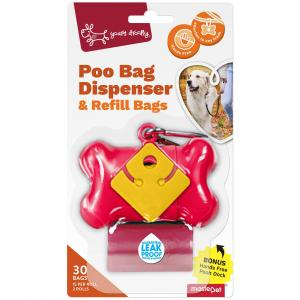YOURS DROOLLY - Poo Bag Dispenser & Refill Bags