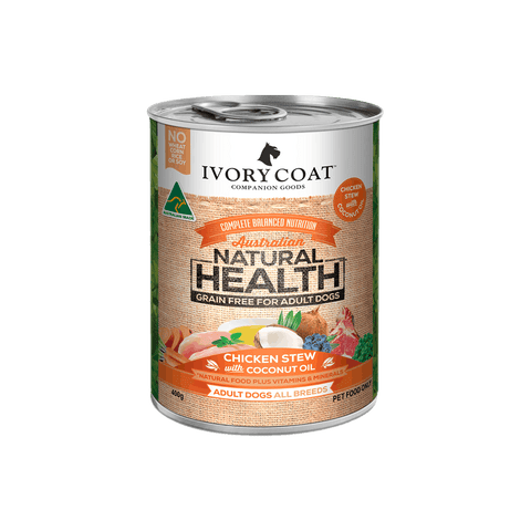 Ivory Coat Wet Dog Food - Chicken & Coconut Stew