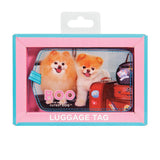 Boo Luggage Tag