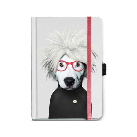 Pets Rock Andy Warhol Notebook