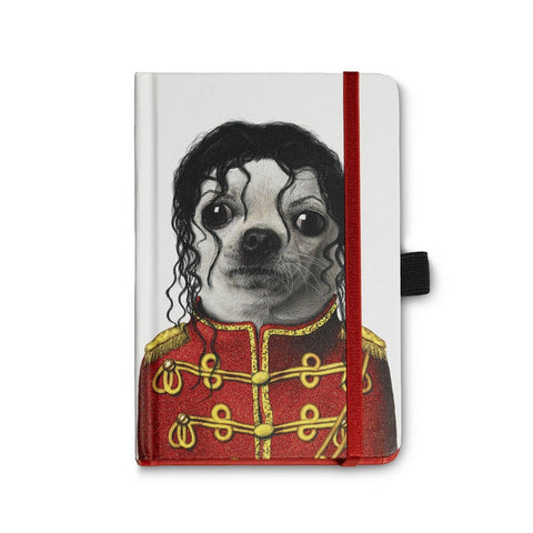 Pets Rock Michael Jackson Notebook