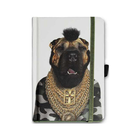 Pets Rock Mr T Notebook