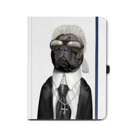 Pets Rock Karl Lagerfeld Notebook
