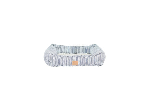 Mog & Bone Bolster Bed - Stripe Print