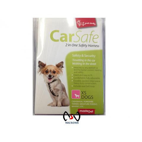 Yours Droolly Car Safe Harness ~ XS