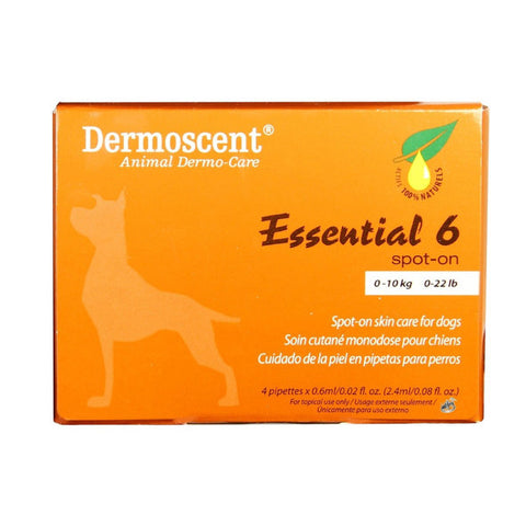 Treatment - Essential 6 spot on - Dermoscent