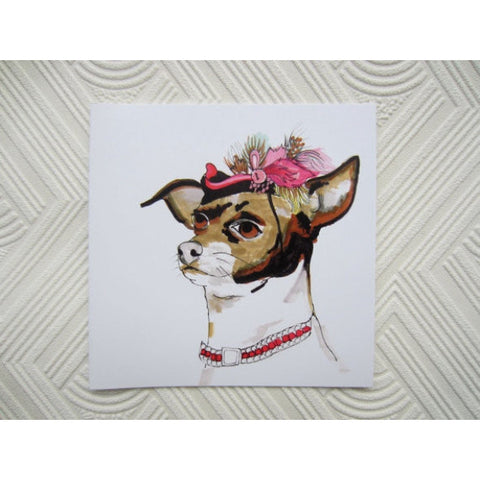 Greeting Card - Hattie