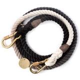 Found My Animal - Dog Leash - Black Ombre