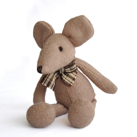 Woolie Dog Squeak Toys - Country Mouse