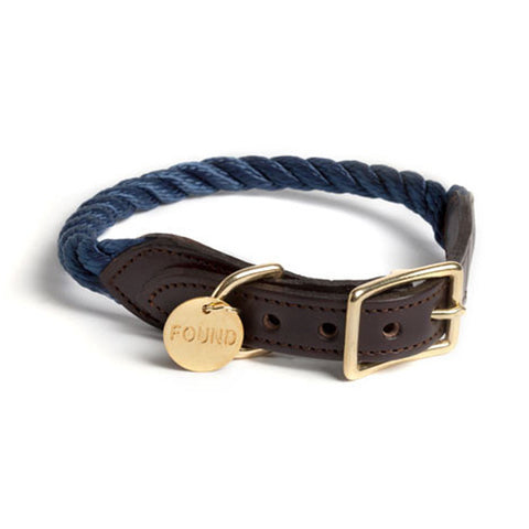 Found My Animal - Dog Collar - Navy