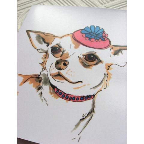 Greeting Card - Pierson The Chihuahua