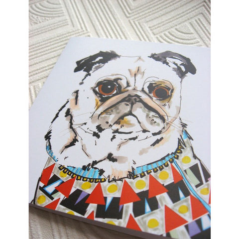 Greeting Card - Michael The Pug