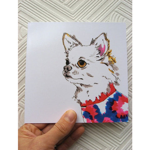 Greeting Card - Rob Chihuahua