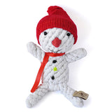 Dog Rope Toys - Scott the Snowman