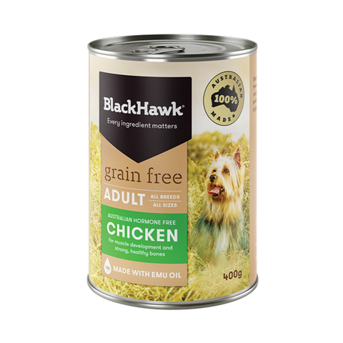 Black Hawk Grain Free - Adult - Chicken